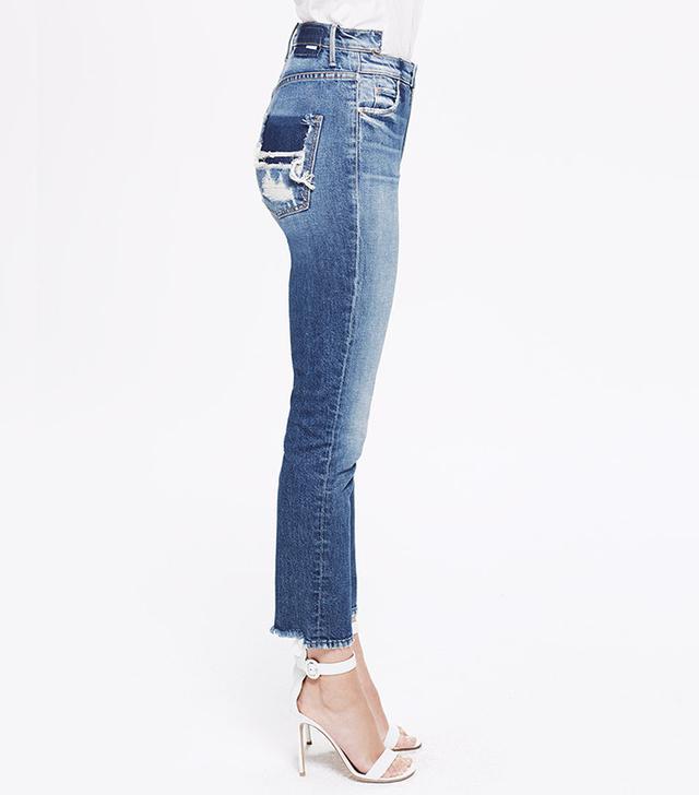best DIY jeans- Mother Dazzler Shift Jeans