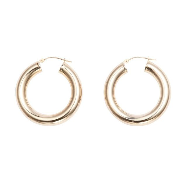best hoop earrings—Erth Hoop XXX Earrings