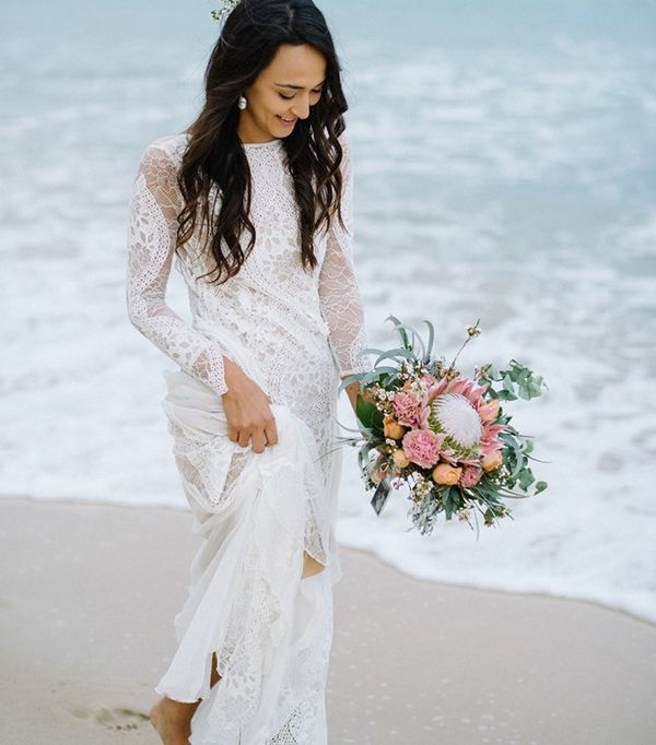 beach wedding dresses - Grace Loves Lace Inca