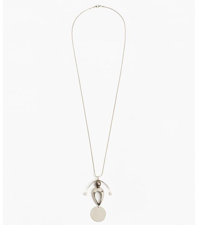 Mango Pendant Chain Necklace
