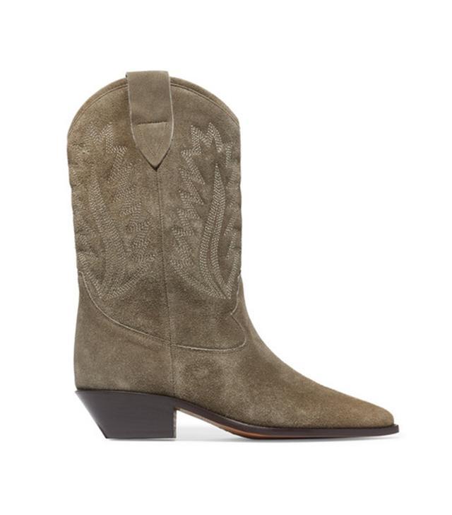 Isabel Marant Étoile Dallin Suede Boots