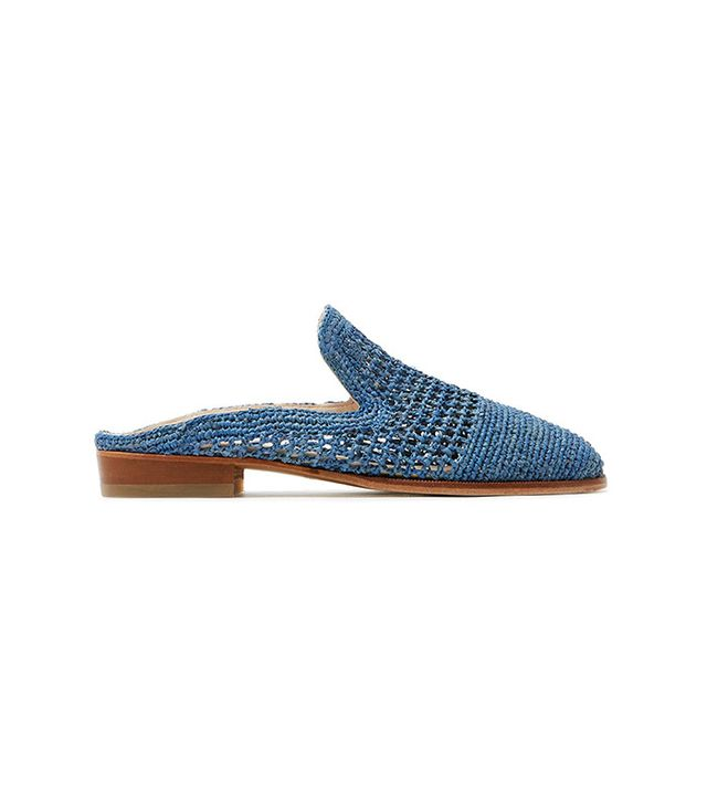 best straw mules- Robert Clergerie Antes Mules