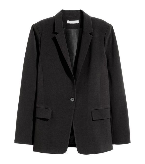 cute tshirt outfits - H&M Straight Cut Blazer