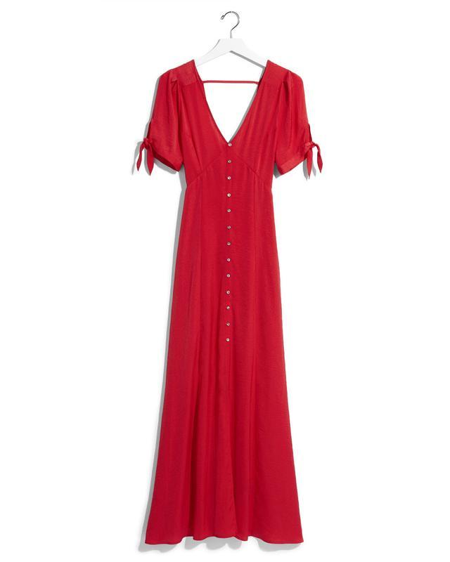 Express Karlie Kloss Solid Maxi Dress