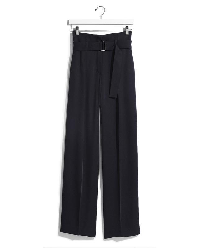 Express Karlie Kloss Wide Leg Belted Dress Pant