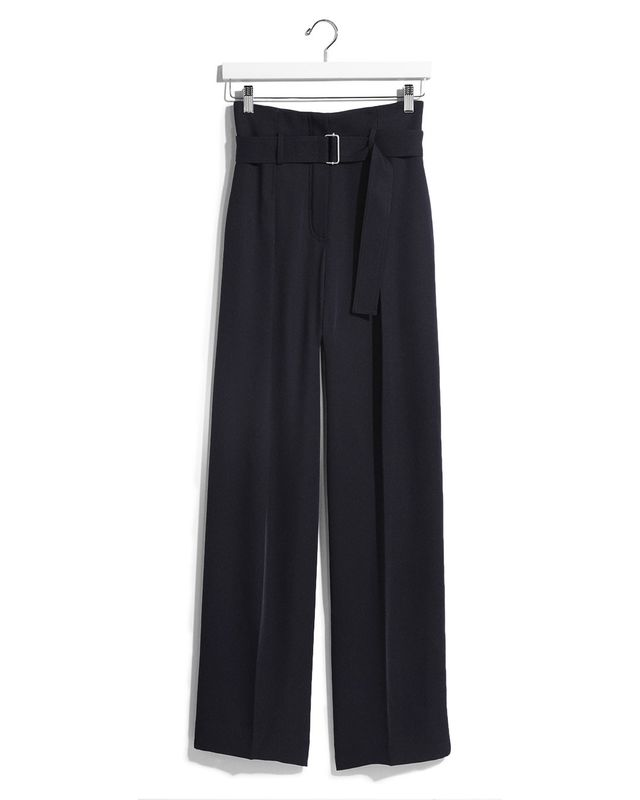 Express Karlie Kloss Wide Leg Belted Dress Pant