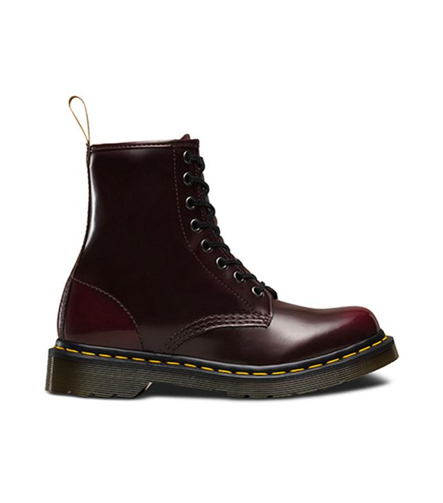 dr. martens red patent boots