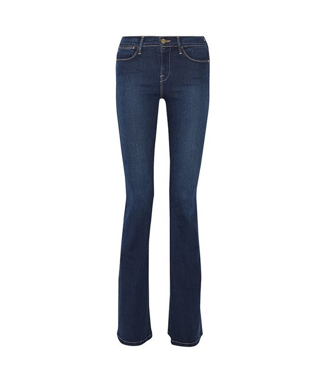 flare jeans—Frame Le High Flare High-Rise Jeans