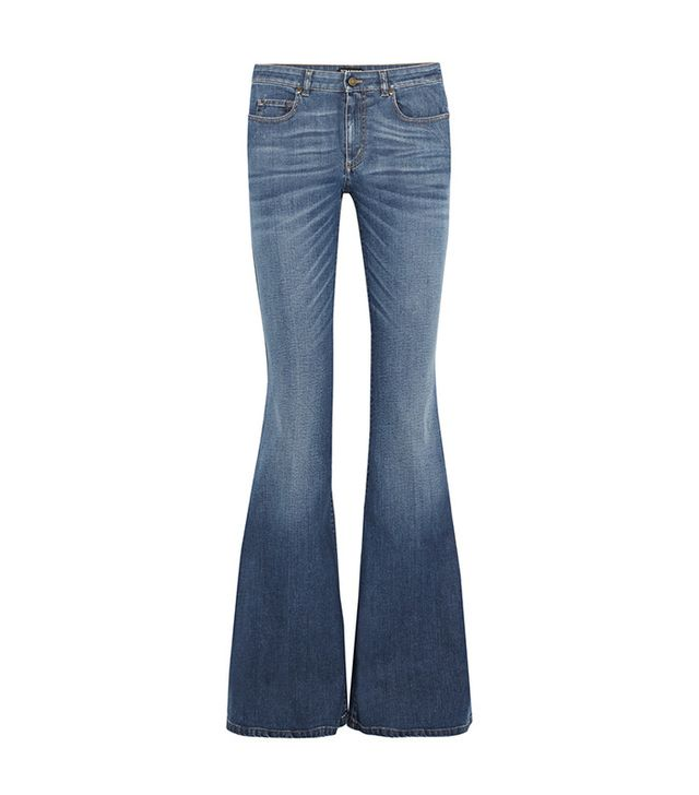 best flare jeans—Tom Ford Mid-Rise Flare Jeans