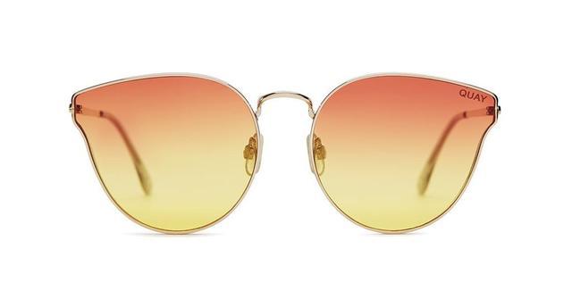 orange sunglasses - Quay All My Love Sunglasses