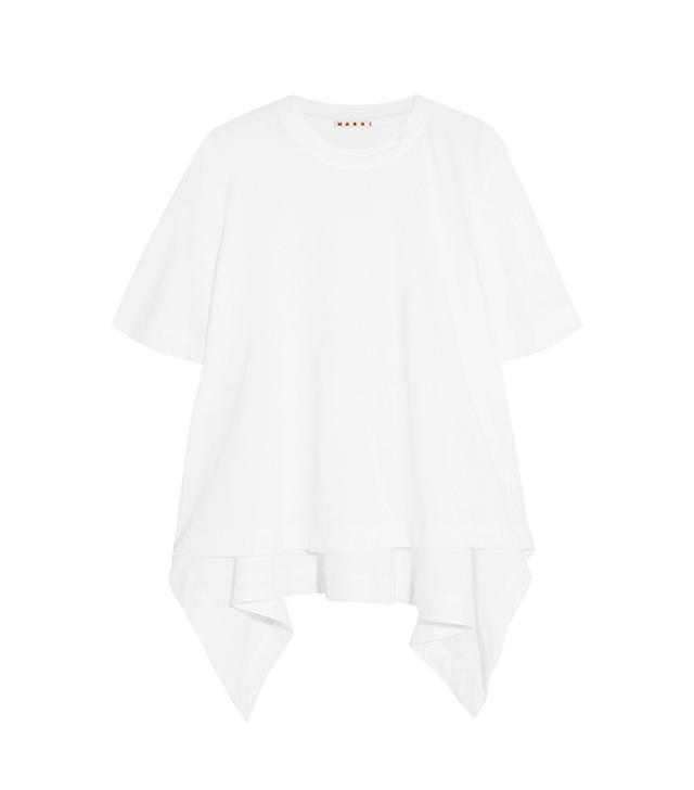 Marni Asymmetric Cotton T-Shirt