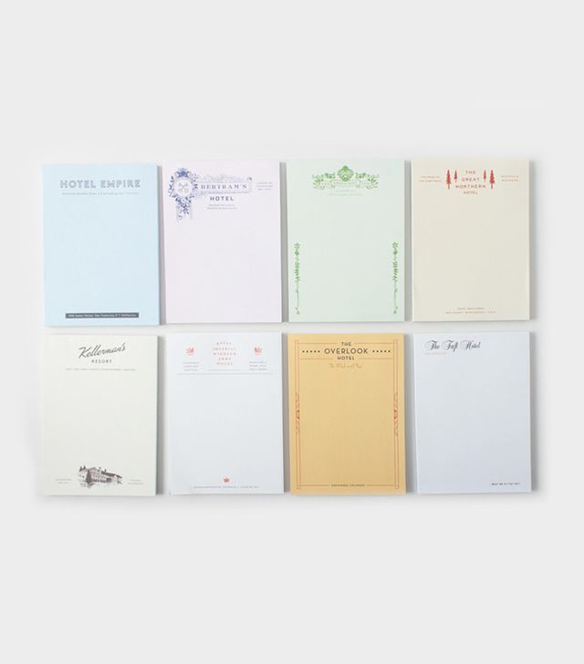 herb lester fictional hotel notepads