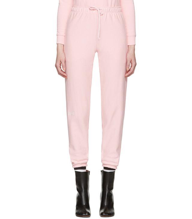 vetements pink sweatpants