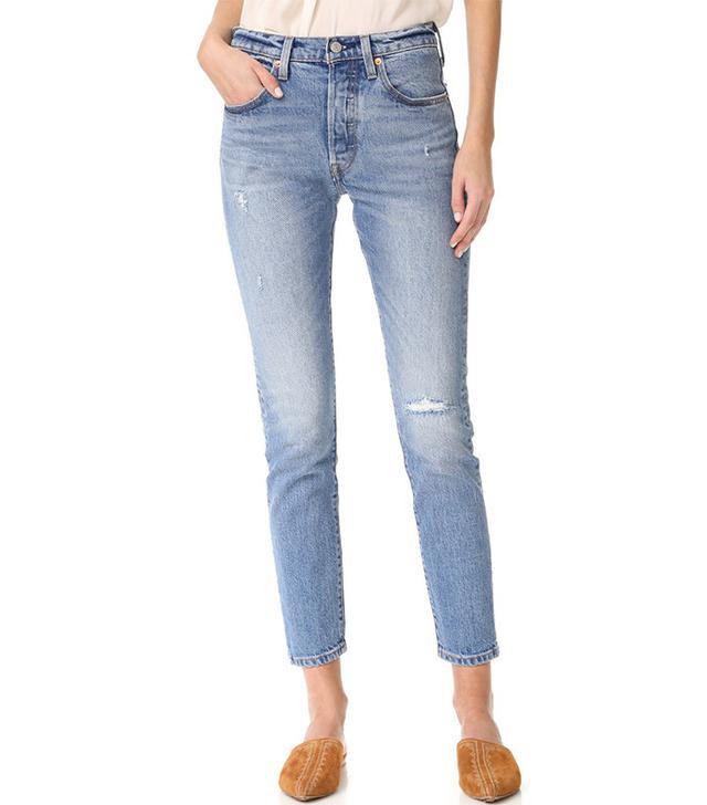 best levi skinny jeans