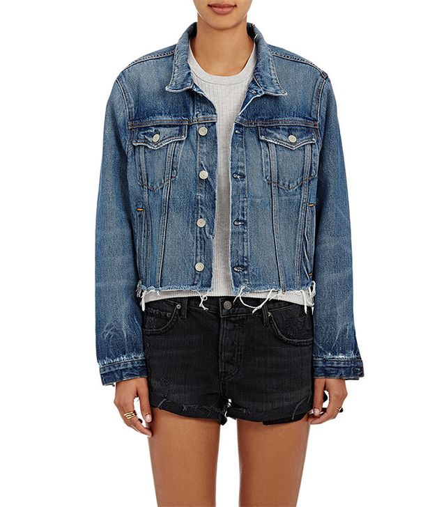 Grlfrnd Cara Crop Trucker Jacket