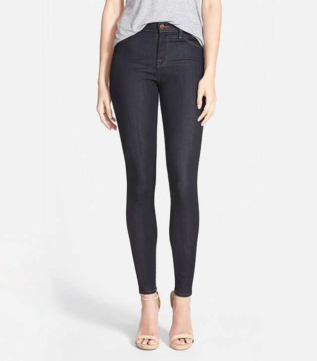 best going-out jeans—J Brand Maria High Waist Skinny Jeans