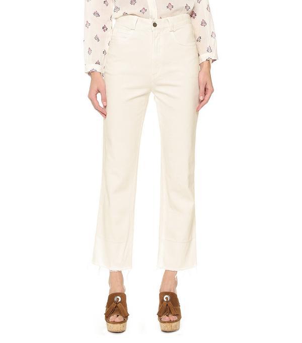 cute tshirt outfits - Rachel Comey Slim Legion Jeans