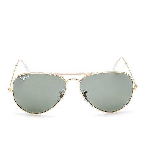 Oversized Polarized Aviator Sunglasses