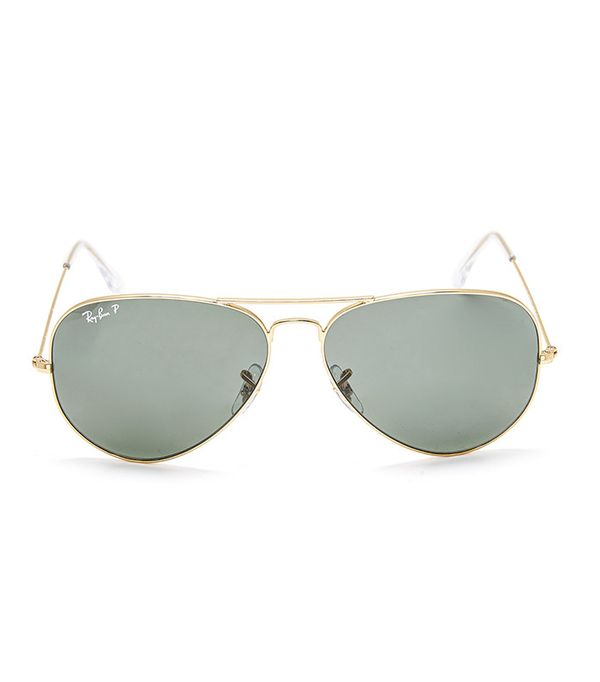cute tshirt outfits - Ray-Ban Oversized Polarized Aviator Sunglasses