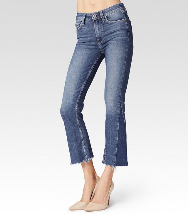best crop flares- Paige Colette Crop Flare Jeans