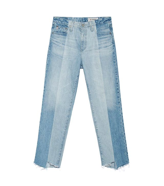 best deconstructed jeans- AG The Phoebe Jeans in 19 Years Splinter