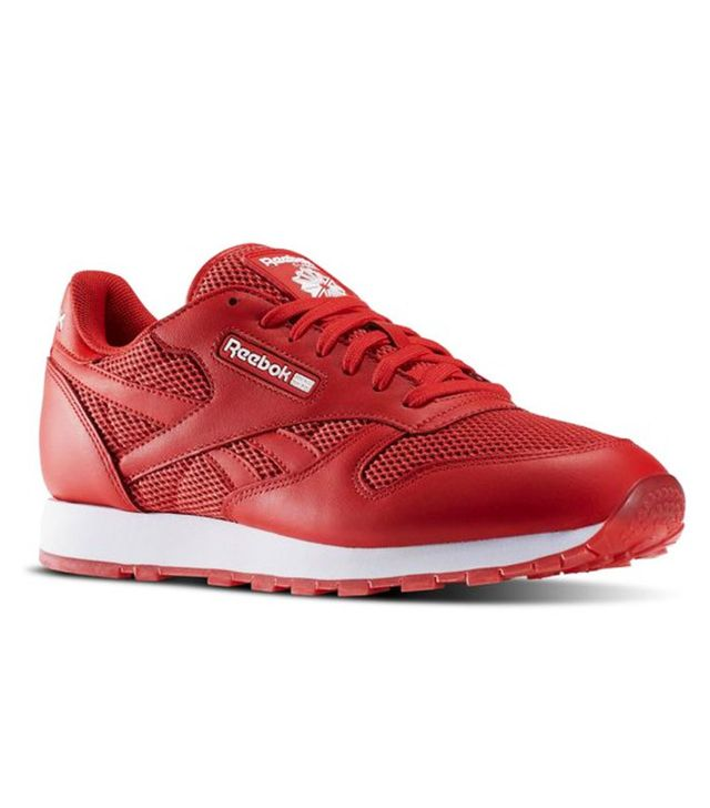 Reebok classic red trainers