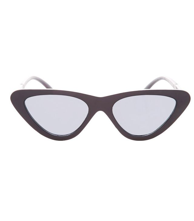 Topshop Polly '90s Pointy Polly Cateye Sunglasses