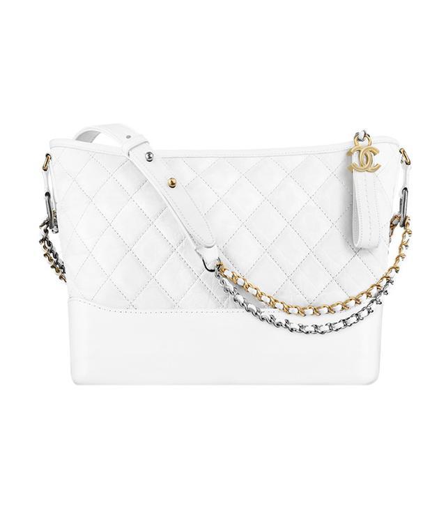 it bag - Gabrielle Hobo Bag white