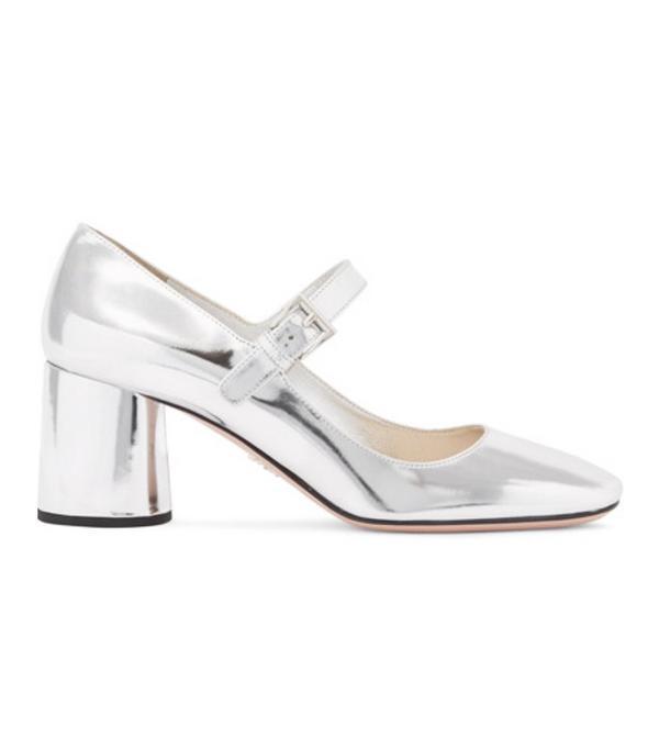 Best silver shoes: Prada