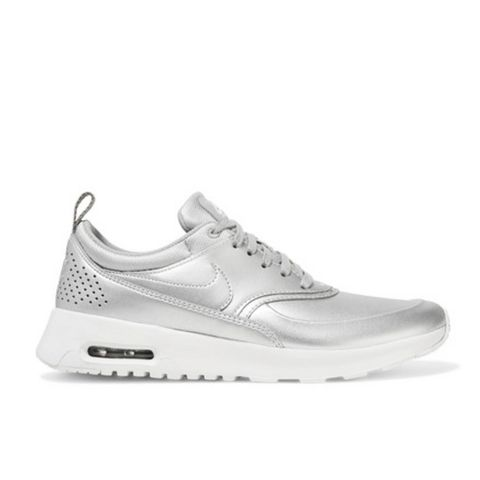 Air Max Thea Metallic Leather Sneakers