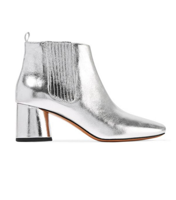 Best silver shoes: Marc Jacobs ankle boots
