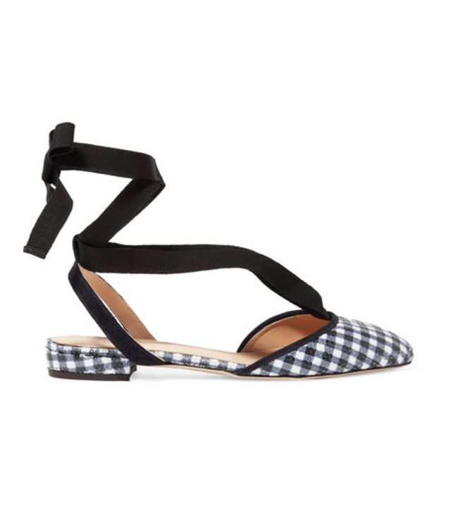 Best slingbacks: Gingham J Crew