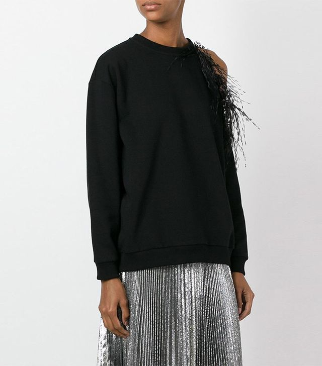 Christopher Kane Feathers Sweatshirt