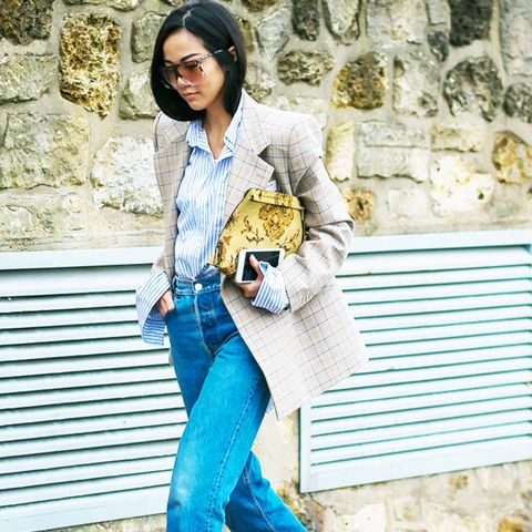 Power Dressing for Work: A blazer and jeans combo is perfect for smart-casual dress codes.
