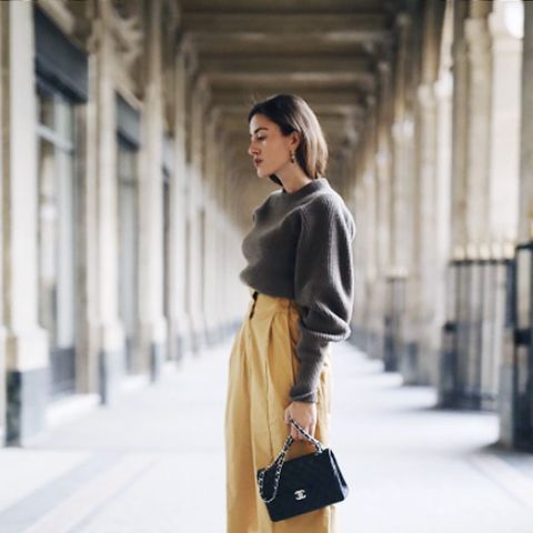 Power Dressing for Work: Culottes are versatile for the office.