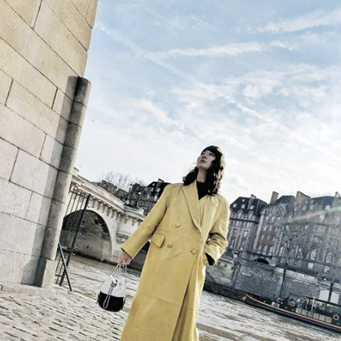 Power Dressing for Work: A power coat makes a great first impression.