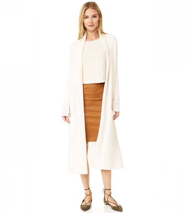 Power Dressing for Work: ThePerfext Robertson Cashmere Cardigan