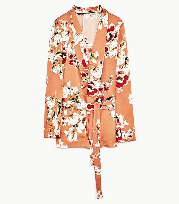 Power Dressing for Work: Zara Floral Printed Blazer