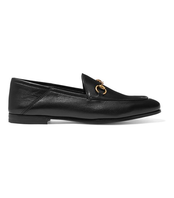 Power Dressing for Work: Gucci Horsebit-Detailed Loafers