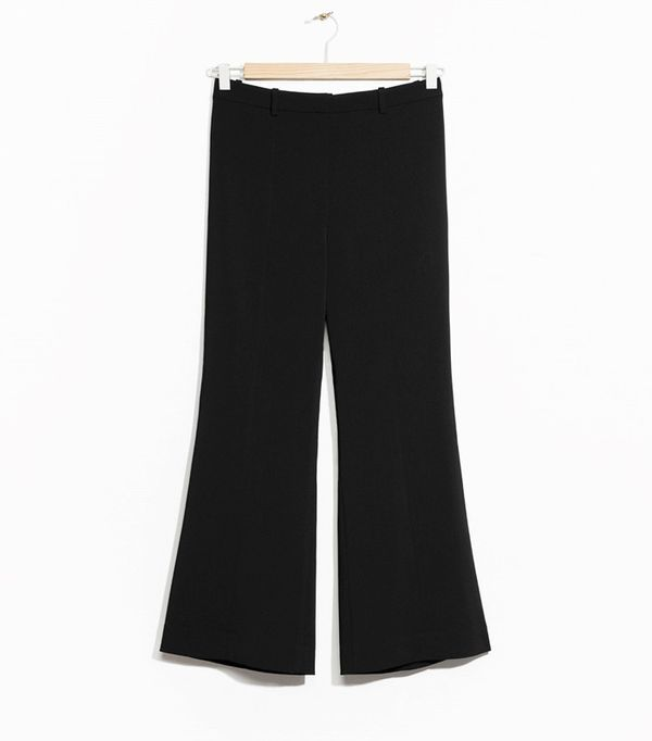 Power Dressing for Work: & Other Stories Cropped Kick-Flare Trouser