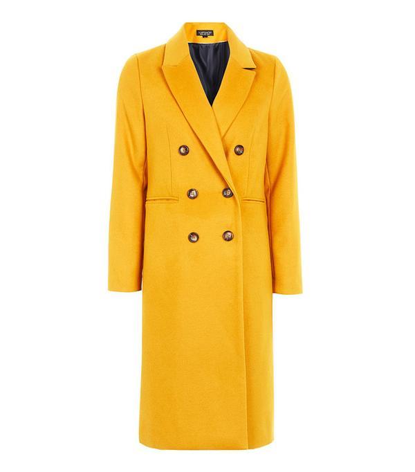 Power Dressing for Work: Topshop Longline Coat