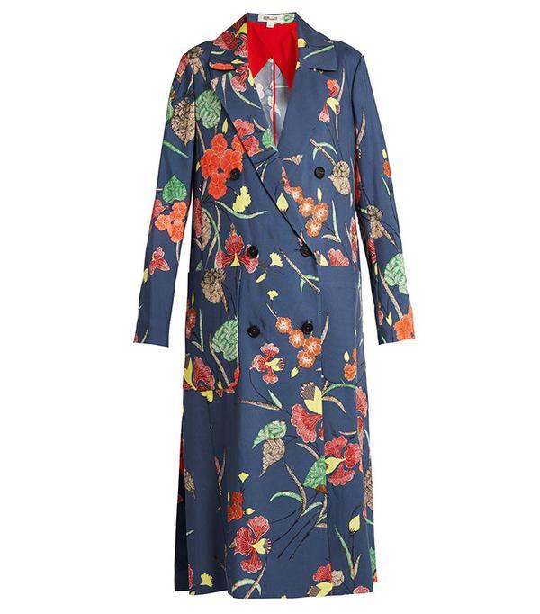 Power Dressing for Work: Diane von Furstenburg Ampere Coat