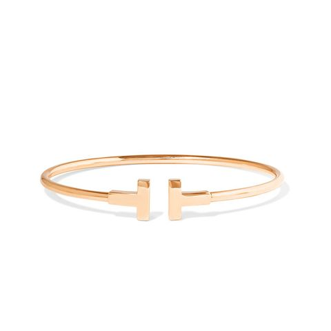 T-Wire 18-Karat Rose Gold Bracelet
