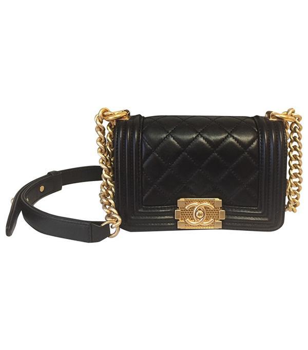 Power Dressing for Work: Chanel Vintage Boy Bag