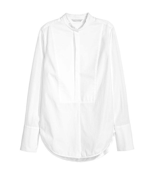Power Dressing for Work: H&M Textured Shirt