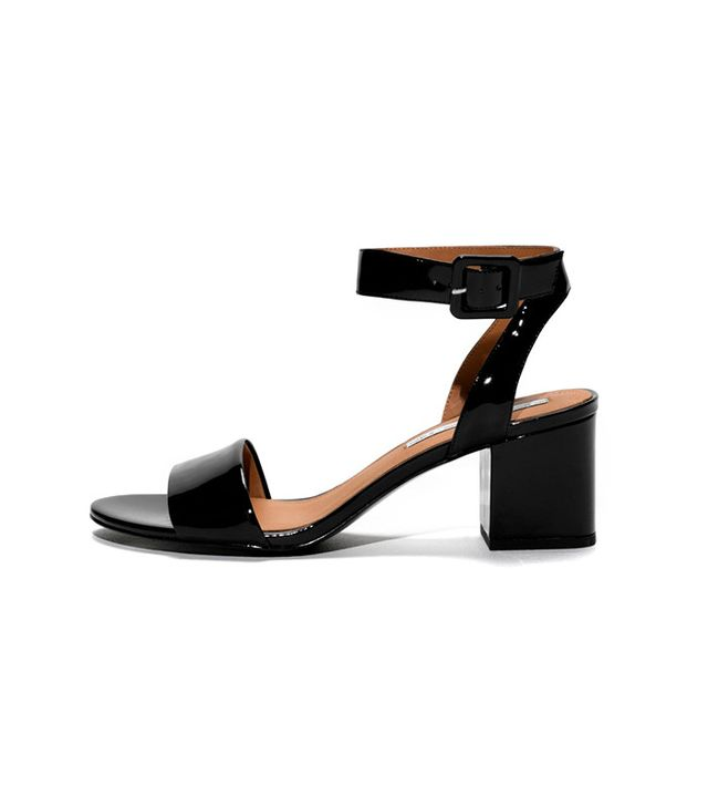 & Other Stories Patent Leather Sandalette