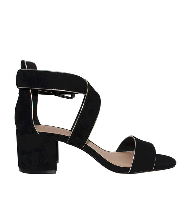 Who What Wear Collection Ashlyn Block Heel Quarter Strap Sandals