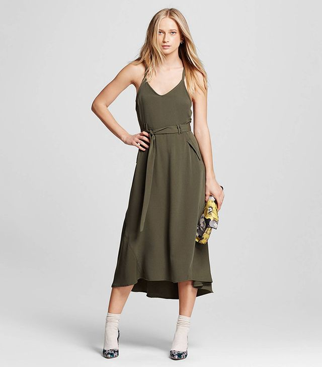 Who What Wear Collection Utility Midi Dress