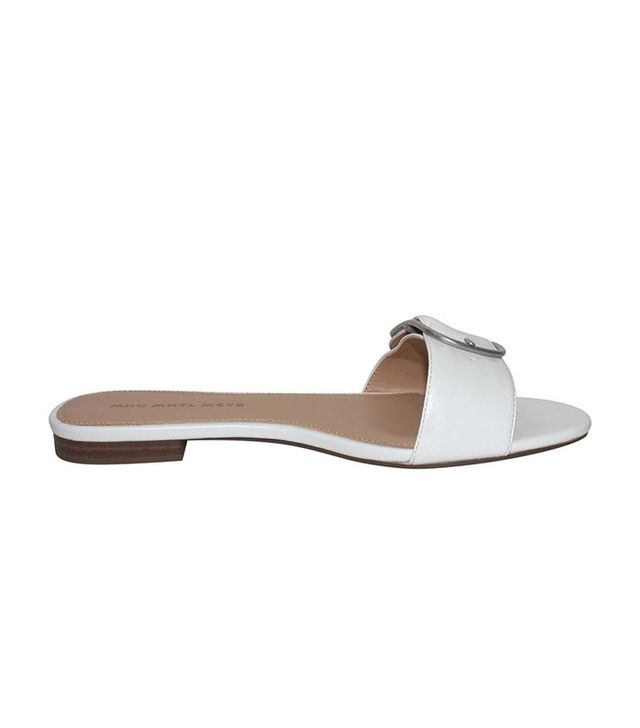 Who What Wear Collection Emma Buckle Slide Sandals