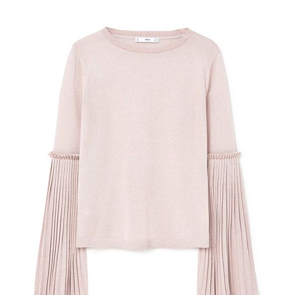 Mango Flared Sleeves Sweater